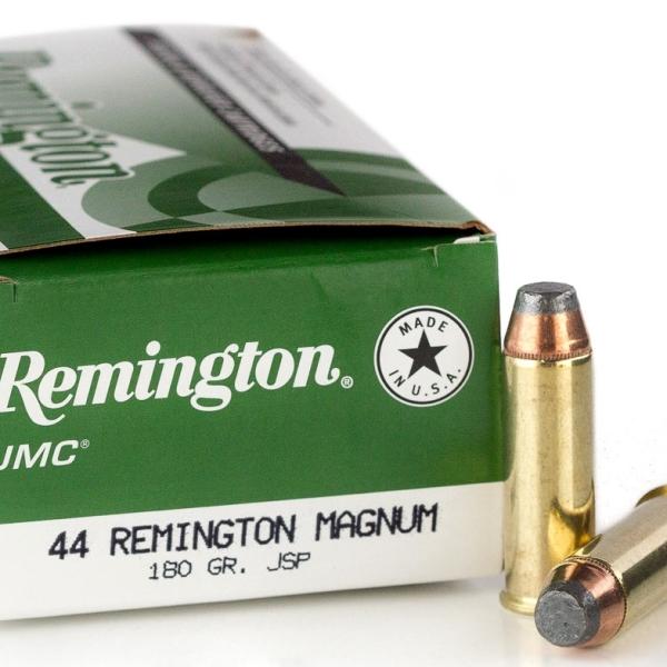Remington UMC Centerfire Handgun Ammunition- .44 Rem. Magnum