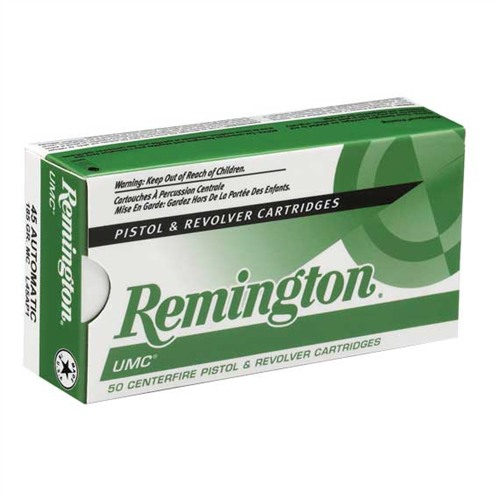 Remington UMC Centerfire Handgun Ammunition- .45 ACP