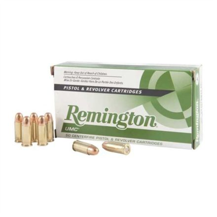 Remington UMC Centerfire Handgun Ammunition- 9mm Luger