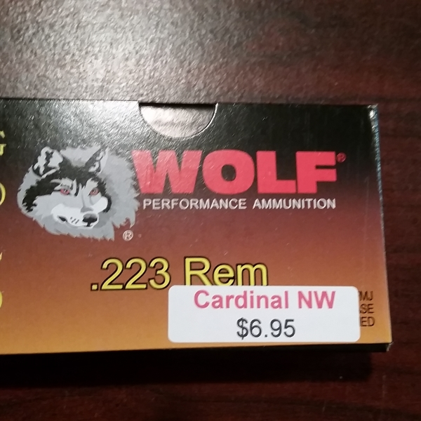 Wolf Gold .223/ 5.56 Rifle Ammunition