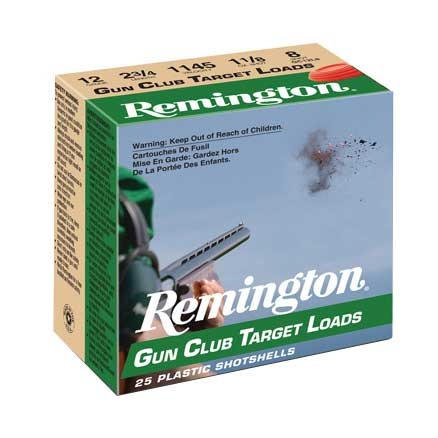 Remington Shotgun Ammunition- 12 Gauge- Gun Club