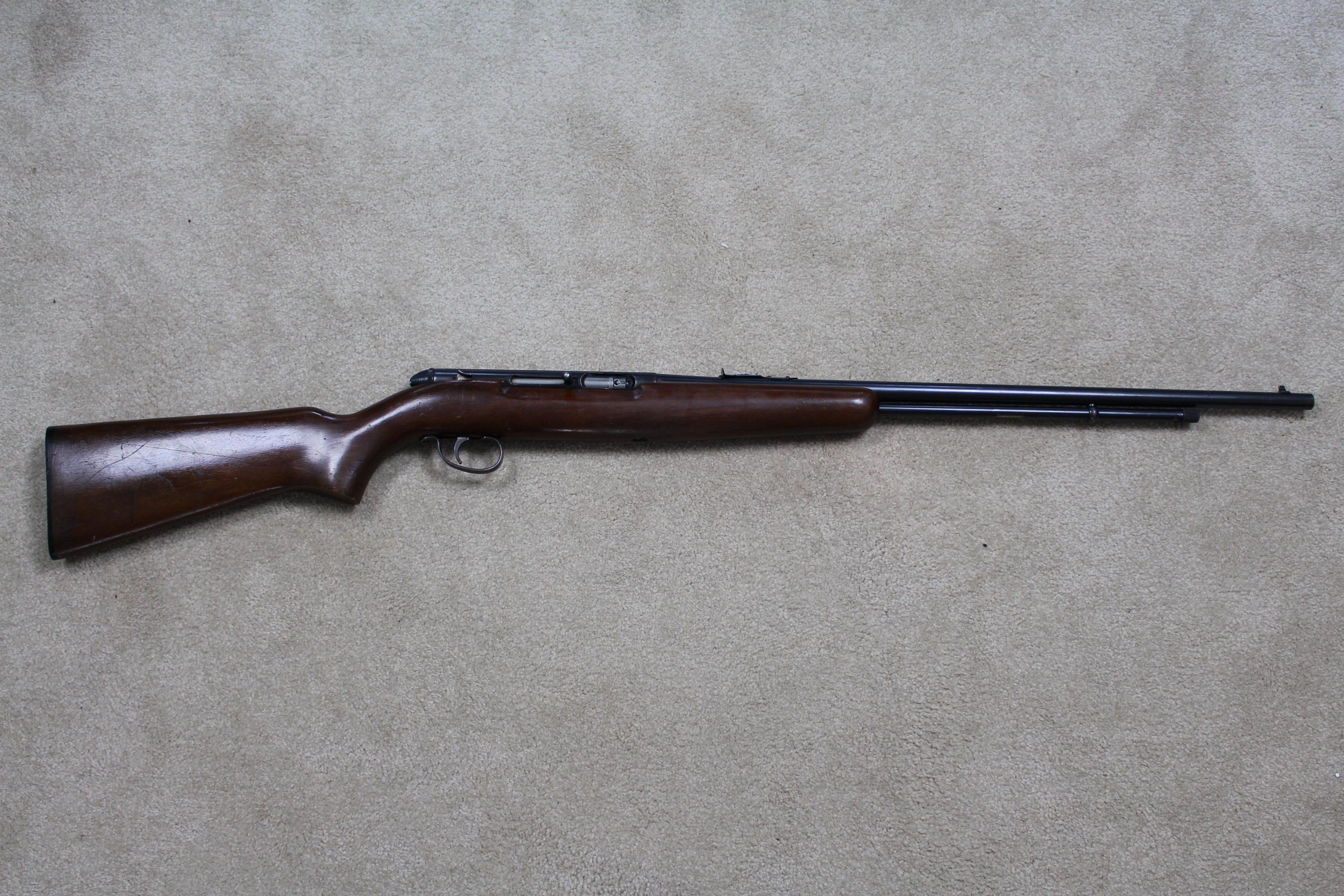 _Remington Model 550-1 Rimfire Semi-auto Rifle -  22 Short, Long, Long Rifle