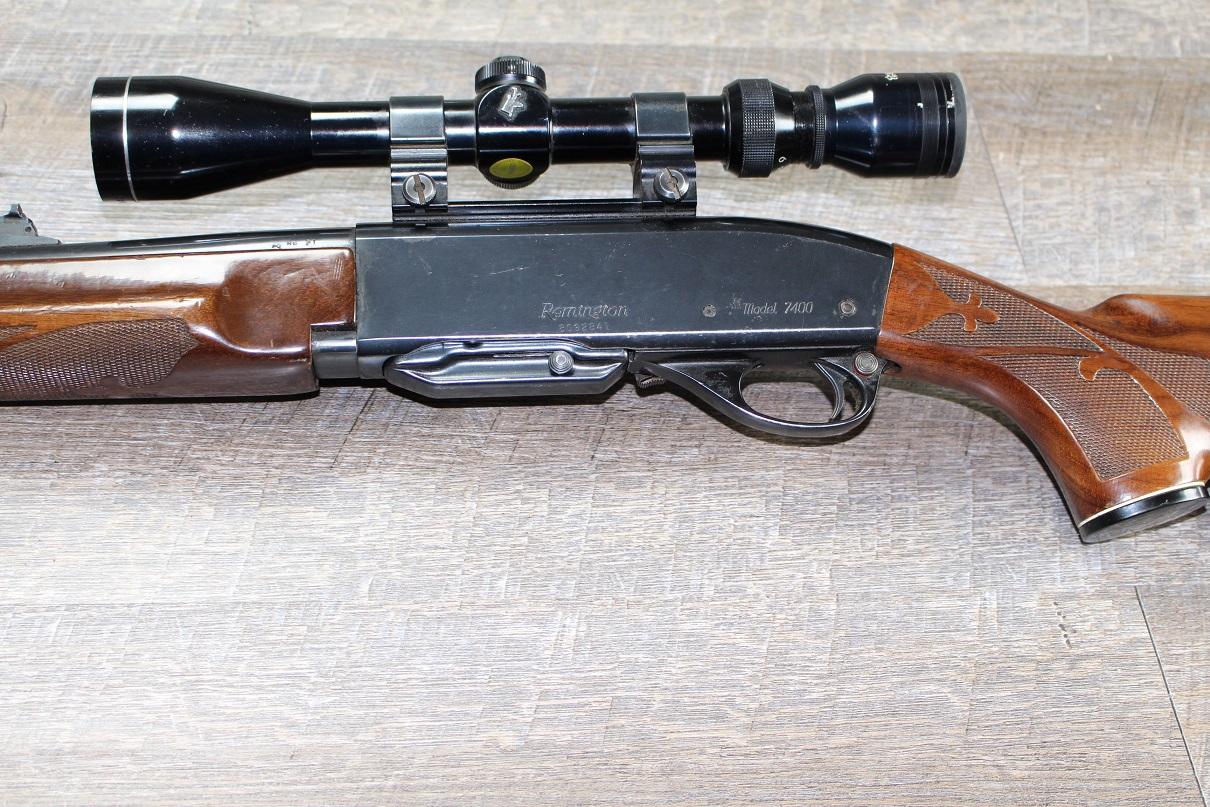 Remington Model 7400 Centerfire Rifle 06 Springfield