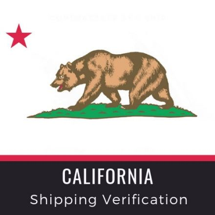 California Shipping Verification